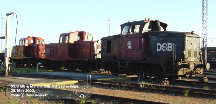 ØSJS M8, M9 and DSB MH 378